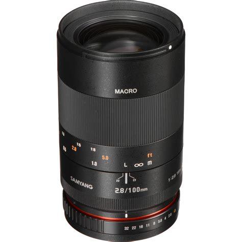 Samyang 100mm F2 8 Telephoto Macro Lens For Fuji X 1 samyang 100mm f2 8 ed umc macro e mount lens info