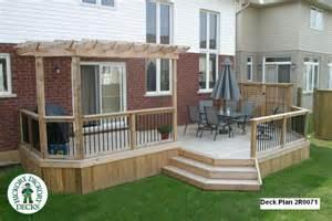 Deck Plans Com Large Diy Deck Plans