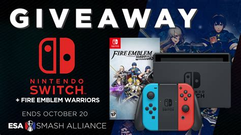 Amazon Nintendo Switch Giveaway - esa smash nintendo switch giveaway
