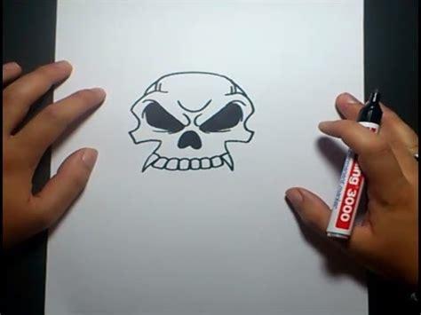 imagenes de una calavera sentada como dibujar una calavera paso a paso 10 how to draw a
