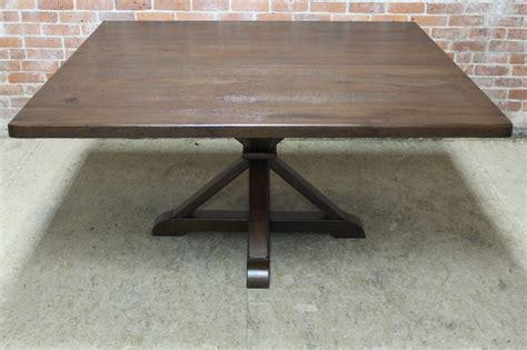 large square table pedestal base style ecustomfinishes