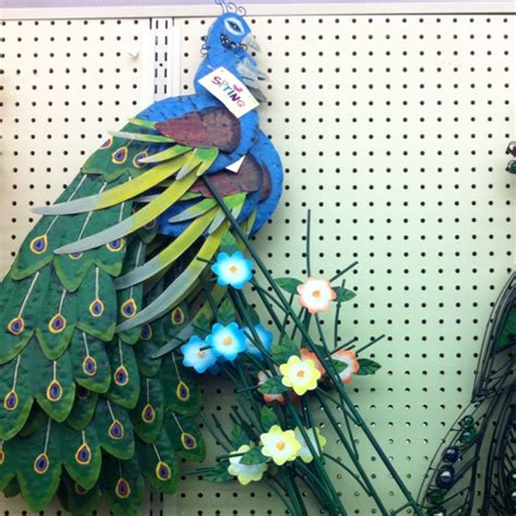 Hobby Lobby Garden Decor with Hobby Lobby Peacock Garden Decor Everything Peacock