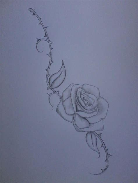 rose thorn tattoo sle by vir3 kiss3s on deviantart