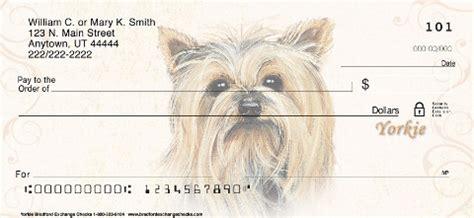 yorkie personal checks yorkie personal checks