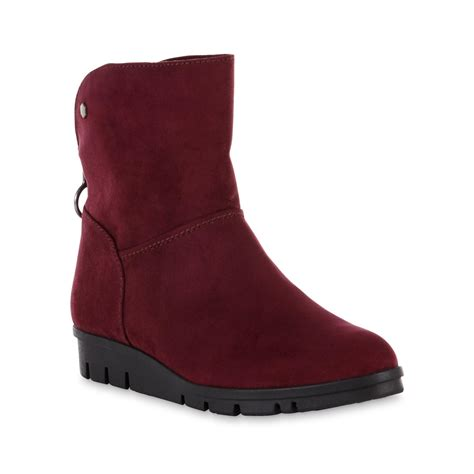 basic editions s remix burgundy boot
