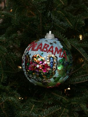 ornaments representing alabama