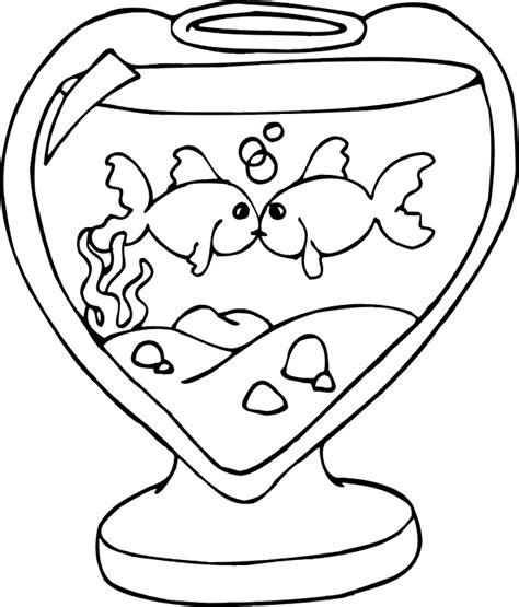 kissing fish coloring page officer buckle and gloria coloring pages az coloring pages
