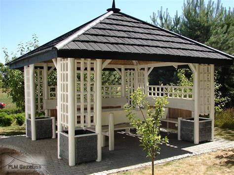 backyard pagoda garden wooden gazebo quot white pagoda quot between the