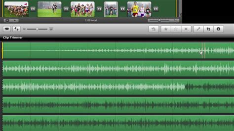 tutorial imovie audio editing audio clips in imovie with clip trimmer youtube