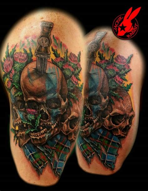 25 Great Scottish Tattoos Ideas Golfian Com Scottish Designs