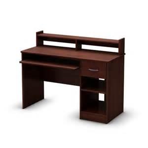 Small Cherry Computer Desk Small Desks For Small Spaces