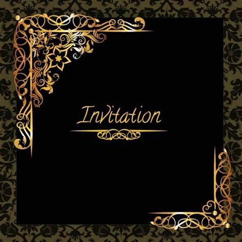 template undangan elegan contoh undangan pesta elegan informasi bisnis terbaru
