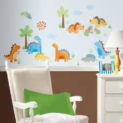 Nursery Wall Stickers For Boys new dinosaurs wall decals dinosaur stickers kids bedroom