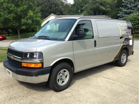 books on how cars work 2008 chevrolet express 3500 engine control buy used 2008 chevrolet express 1500 work van with many upgrades in fishers indiana united