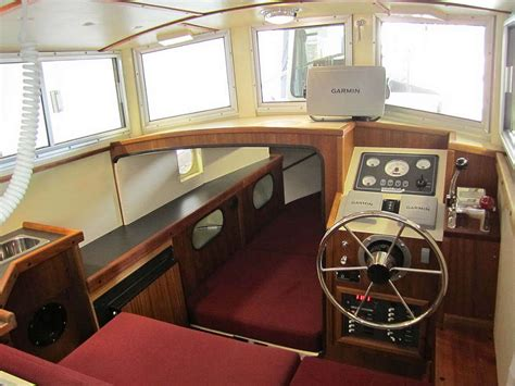 small boat interior design ideas timbercoast troller 22 new displacement design for