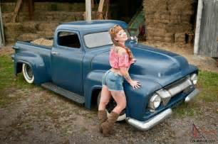 1954 Ford F100 Chopped Top Lead Sled Rat Rod Custom Hot