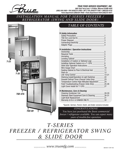 true freezer ts 23f wiring diagram true get free image