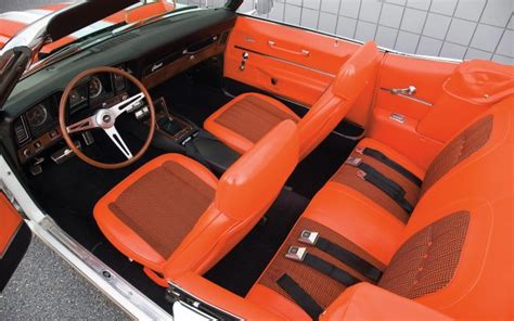 Wheels Swoop Coupe 612 top 50 coolest car interiors illustrated list