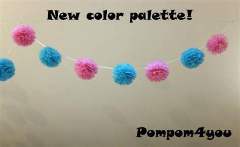 How To Make Tissue Paper Pom Pom Garland - decor tissue paper pom pom garland 2417764 weddbook