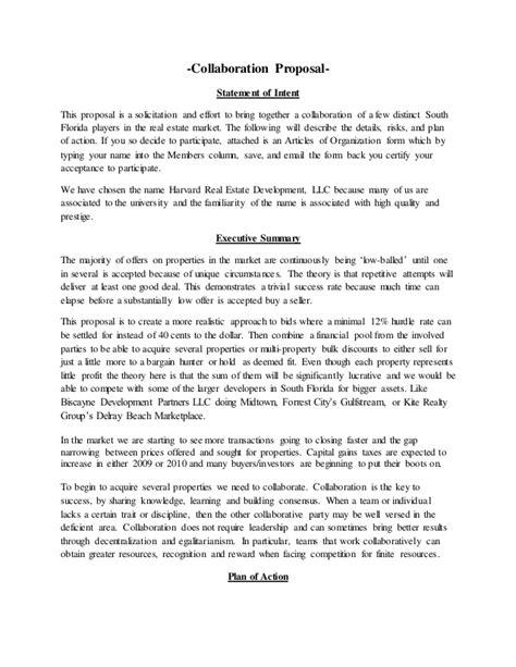 Collaboration Offer Letter