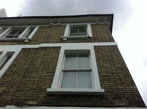 Concrete Window Sill Concrete Windows Split And Fallen Away In Nw1 Camden