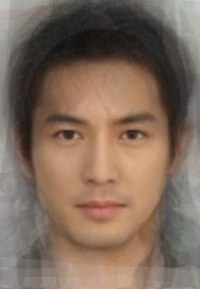 hong kong japanese actor world of facial averages east southeast asia pacific