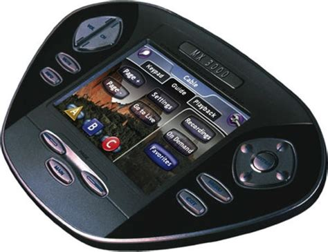 home theater remote touch screen design  ideas