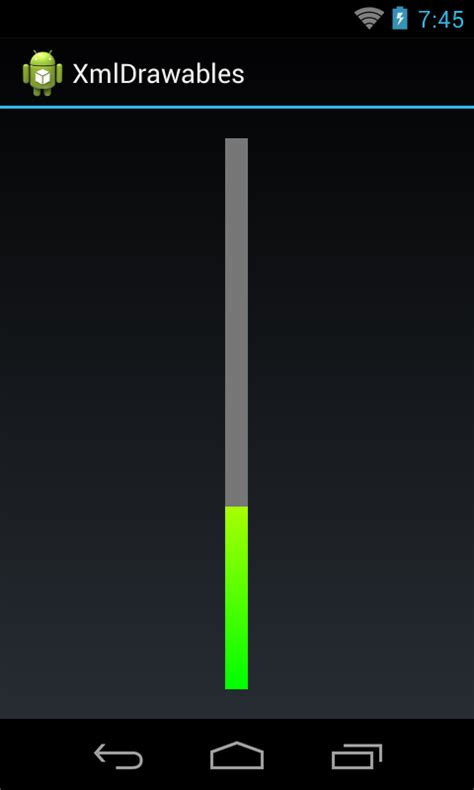 android progress bar android dev exles android custom vertical progressbar