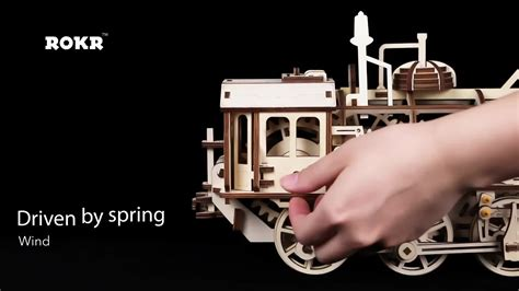desk toys for engineers locomotive mechanical gears 3d puzzle for adults wooden