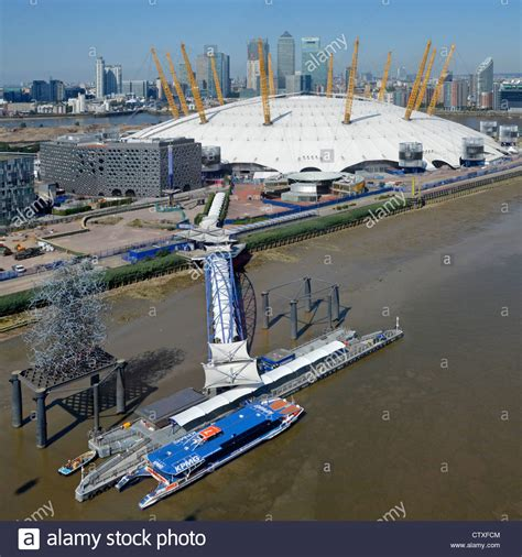 thames clipper o2 timetable aerial view of north greenwich pier thames clipper
