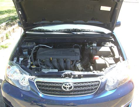 Toyota Corolla 2009 Engine Size File 2005 Toyota Corolla S Engine 2 Jpg Wikimedia Commons