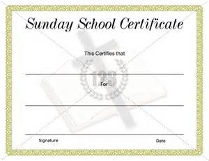school certificate templates pin sunday school certificate template pdf on