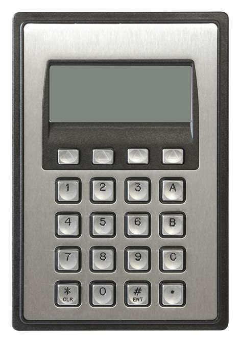 www keypad 5000 series 16 key vandal resistant keypad with an