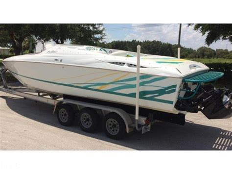 twin engine baja boats for sale 1998 used baja 29 outlaw sst high performance boat for