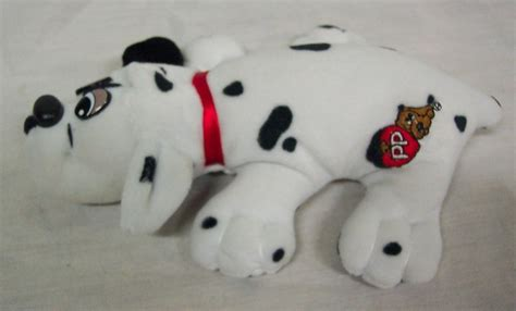 pound puppies stuffed animals tonka vintage pound puppies dalmatian puppy 7 quot plush stuffed animal ebay