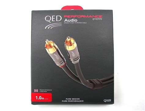 Kabel Hifi Rca To 2 Rca Audio 24k Gold Plated 3mtr Limited qed performance audio graphite 0 6 meter cinch kabel