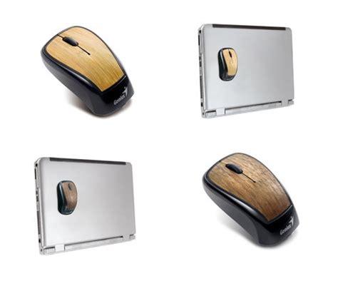 Genius Navigator 905 Wireless Wood Mouse gadgetsgenius navigator 905 bamboo and wood