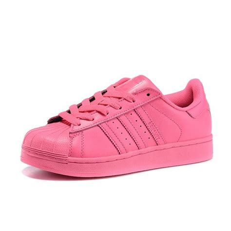adidas superstar x pharrell williams supercolor womens semi solar pink s41839 sneakers gear
