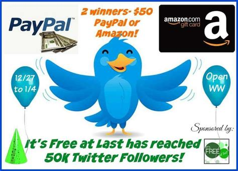 Paypal To Gift Card Amazon - amazon or paypal gift card to celebrate new year