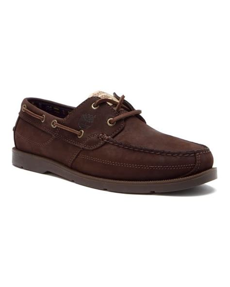 Timberland Earthkeepers Kia Wah Bay Boat Shoes Timberland Earthkeepers Kia Wah Bay Boat Shoe In Brown For