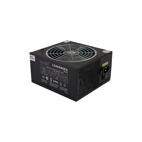 alimentatore lc power alimentation lc power lc6650gp3 v2 3 650w 80plus silver