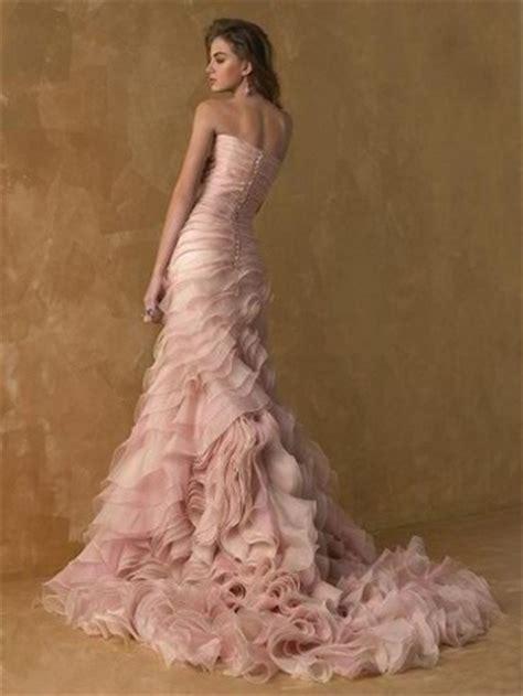 hochzeitskleid in rosa blush wedding dress cute or tacky
