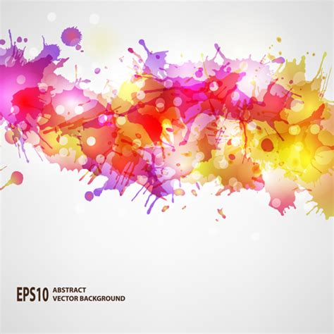 Car Wallpapers Free Psd Files Of Splashing by Splash Watercolor Blots Abstract Background Vector 03 Free