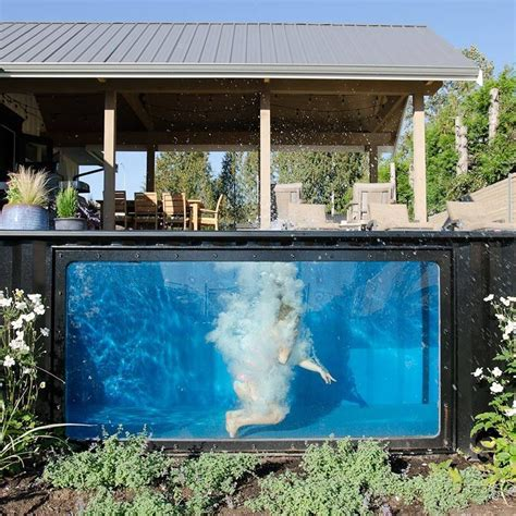 seecontainer pool take a dip in modpools shipping container swimming pool