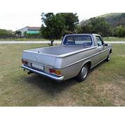 1971 Mercedes Benz 220D Is Now A Pickup Truck With Lexus