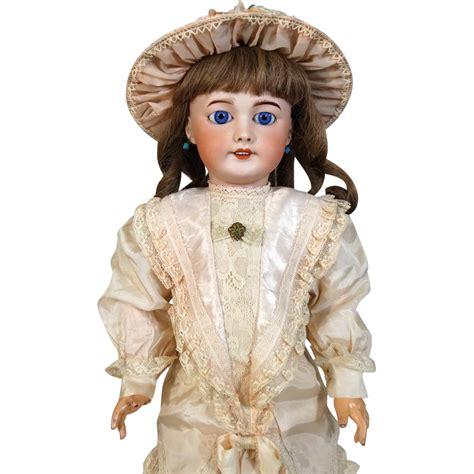bisque antique doll antique sfbj bisque doll 301 from tantelinas