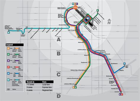 rtd light rail map rtd