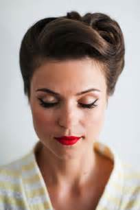 easy vintage hairstyles 15 pretty and easy prom hairstyles thefashionspot