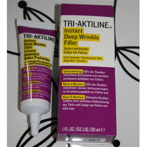 The War Of The Wrinkle Fillers by Test Anti Ageing Tri Aktiline Instant Wrinkle