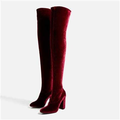 pretty thigh high boots pretty knee high boots to keep you warm style